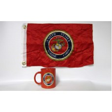 Marines Red Coffee Mug