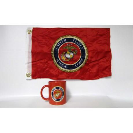 Marines Red Coffee Mug