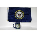 Navy Blue Coffee Mug