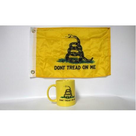 Gadsden Yellow Coffee Mug - Don't Tread On Me