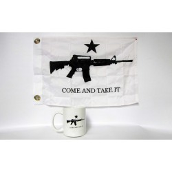 Come and Take It White Coffee Mug