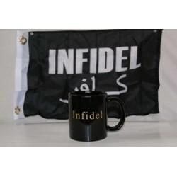 Infidel Black Coffee Mug