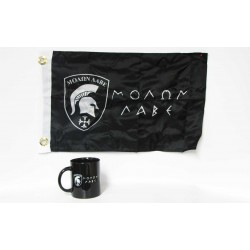 Greek Molon Labe Coffee Mug