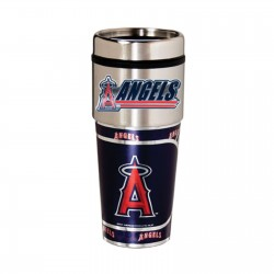 Los Angeles Anaheim Angels Travel Mug 16oz Tumbler with Logo