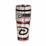 Arizona Diamondbacks Travel Mug 16oz Tumbler with Logo
