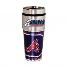 Atlanta Braves Stainless Steel Tumbler Mug