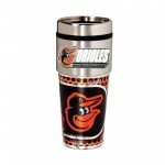 Baltimore Orioles Travel Mug 16oz Tumbler with Logo