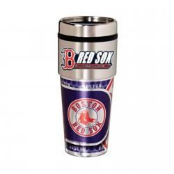 Boston Red Sox Travel Mug 16oz Tumbler with Logo