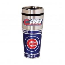 Chicago Cubs Travel Mug 16oz Tumbler with Logo