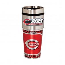 Cincinnati Reds Stainless Steel Tumbler Mug