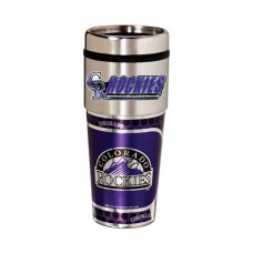 Colorado Rockies Stainless Steel Tumbler Mug