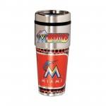 Florida Marlins Stainless Steel Tumbler Mug