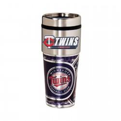 Minnesota Twins Travel Mug 16oz Tumbler with Logo