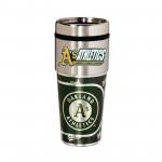 Oakland Athletics Stainless Steel Tumbler Mug