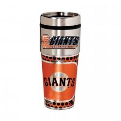 San Francisco Giants Travel Mug 16oz Tumbler with Logo