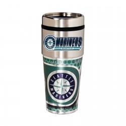 Seattle Mariners Travel Mug 16oz Tumbler with Logo