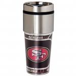 San Francisco 49ers Stainless Steel Tumbler Mug