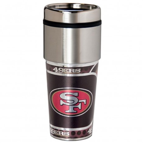 San Francisco 49ers Stainless Steel Tumbler Mug