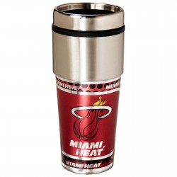 Miami Heat Stainless Steel Tumbler Mug