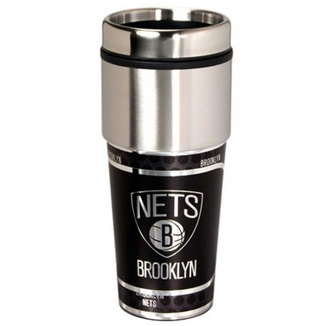 Brooklyn Nets Stainless Steel Tumbler Mug
