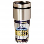 Denver Nuggets Stainless Steel Tumbler Mug
