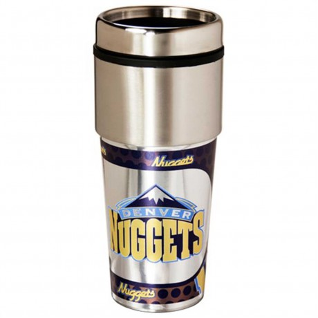 Denver Nuggets Stainless Steel Tumbler Mug