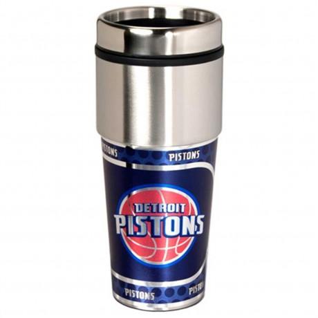 Detroit Pistons Stainless Steel Tumbler Mug