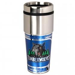 Minnesota Timberwolves Stainless Steel Tumbler Mug