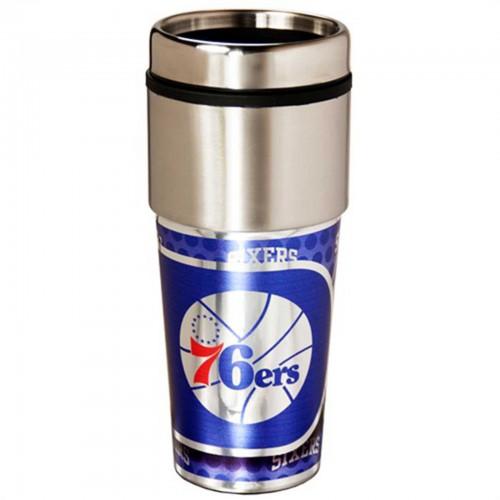 Philadelphia 76ers Stainless Steel Tumbler Mug 16 135