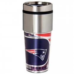 New England Patriots Stainless Steel Tumbler Mug