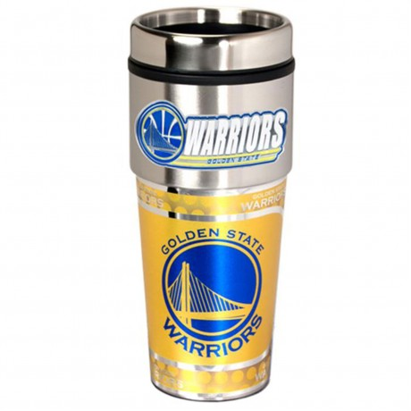 Golden State Warriors Stainless Steel Tumbler Mug