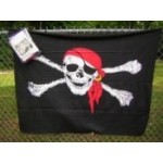 Jolly Roger Polar Fleece Throw/Blanket