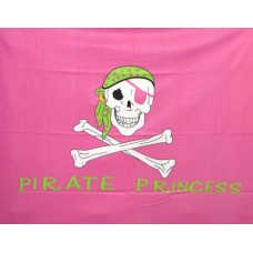 Pirate Princess Polar Fleece Throw/Blanket