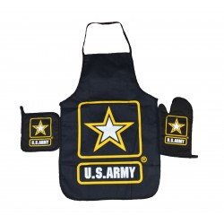 United States Army Apron & Oven Mitt Set