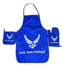 United States Air Force Apron & Oven Mitt Set