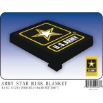 United States Army Mink Fleece Blanket