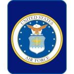 United States Air Force Mink Fleece Blanket