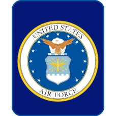 United States Air Force Mink Fleece Blanket