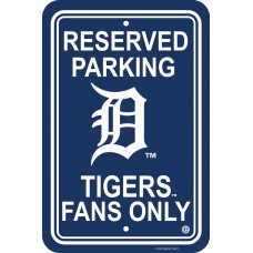 Detroit Tigers Parking Sign
