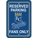 Kansas City Royals Parking Sign