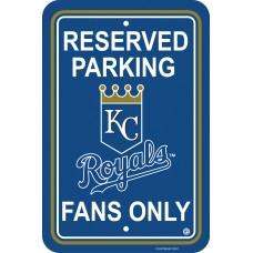Kansas City Royals Parking Sign