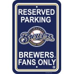 Milwaukee Brewers Parking Sign 12