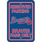 Atlanta Braves Parking Sign 12