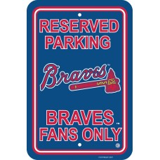 Atlanta Braves Parking Sign 12