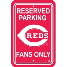 Cincinnati Reds Parking Sign