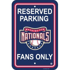 Washington Nationals Parking Sign 12