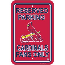 St. Louis Cardinals Parking Sign
