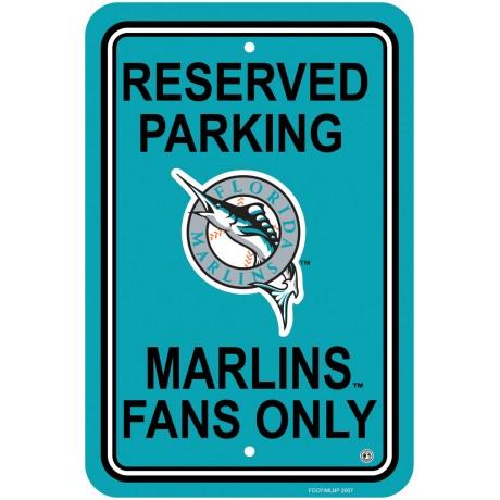 Miami Florida Marlins Parking Sign