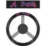 Atlanta Braves Steering Wheel Cover