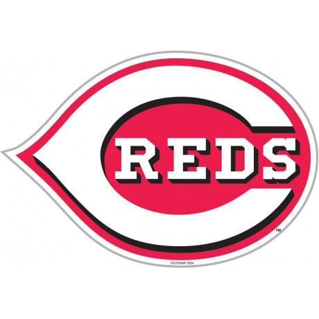 "Cincinnati Reds 12"" Vinyl Magnet"